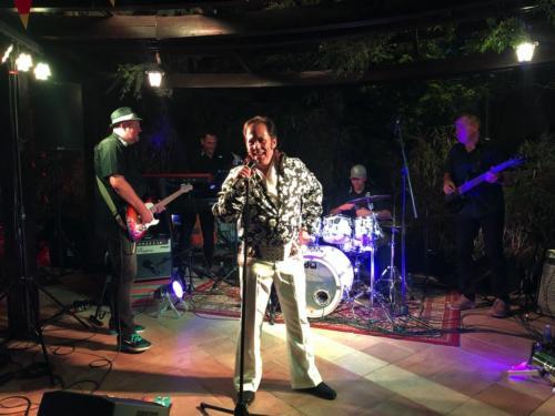 Jordanien - Band mit Elvis