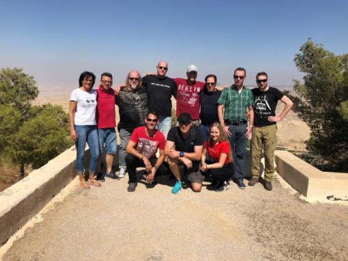 Jordanien - Gruppenfoto Berg