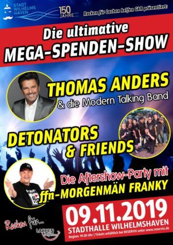 Plakat 09.11.2019 Spendenshow
